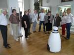 Робот в Политехническом музее г.Москвы